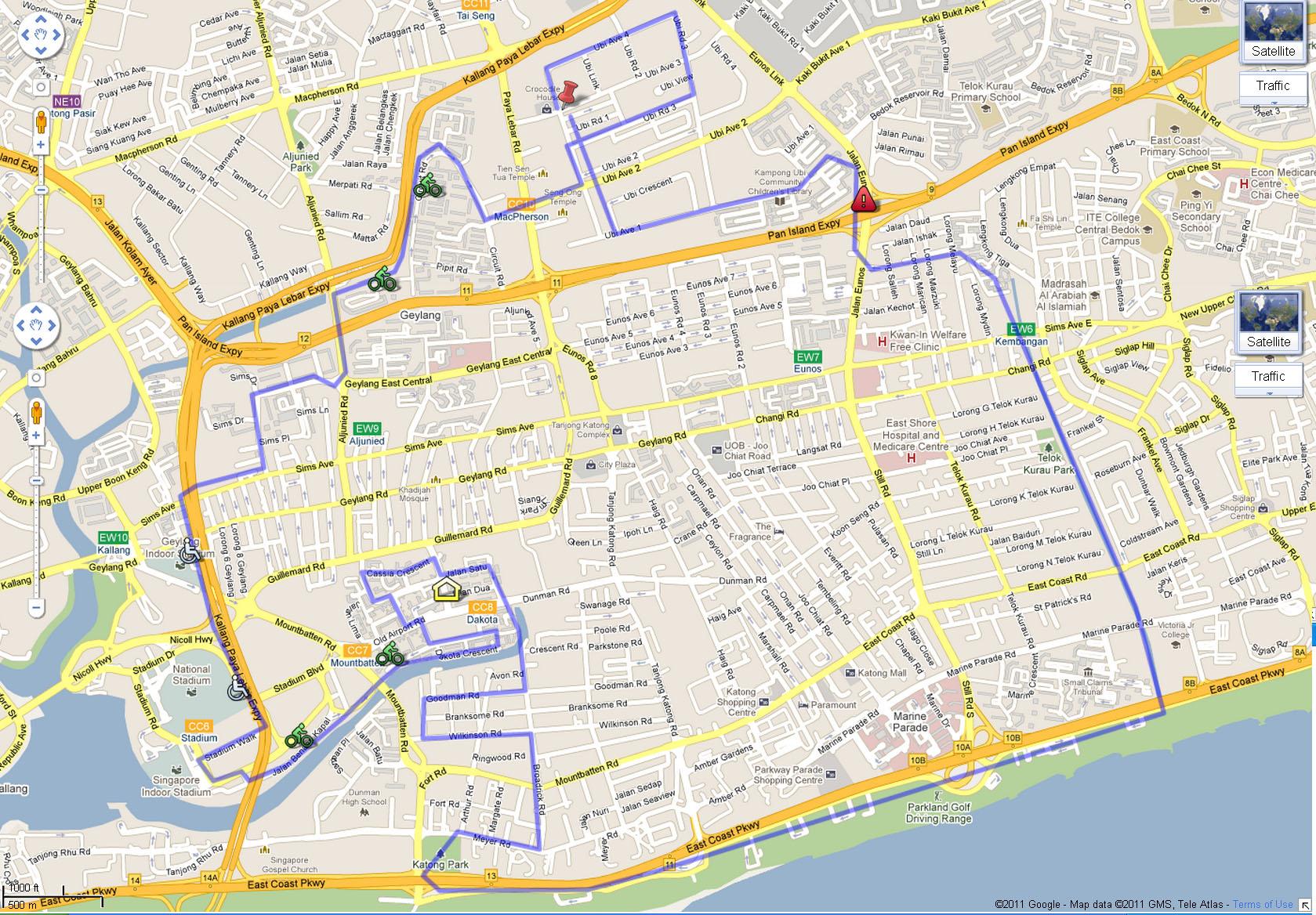 EWalker route