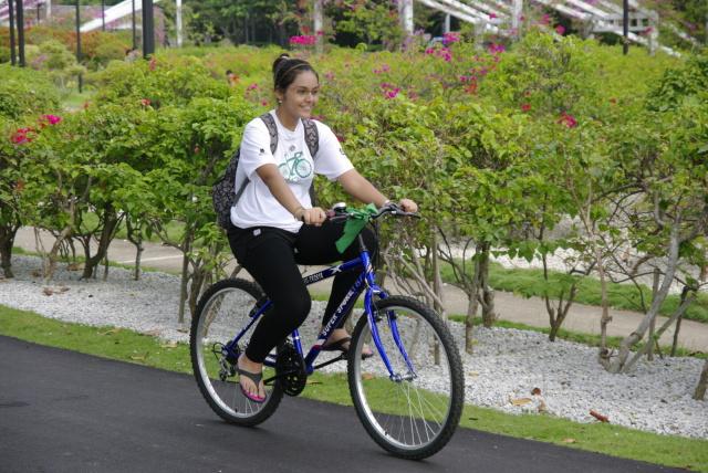 Temasek JC Cycle 350 in East Coast Park