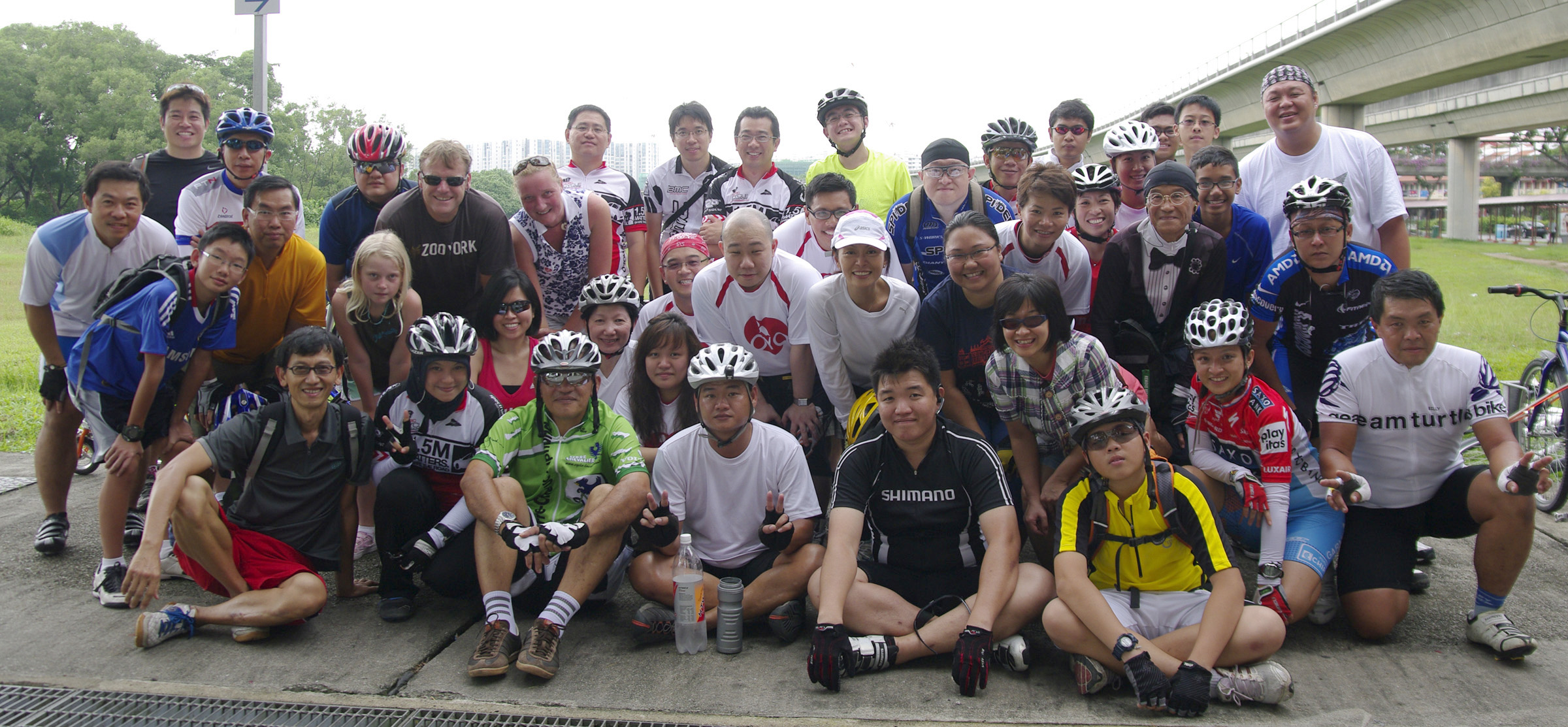 Lovecycling conquer Tuas