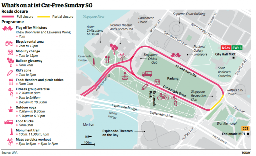 Programming of the Car Free Day
