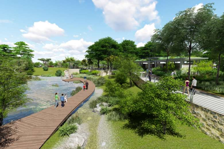 Artist impression of Round Island Route  Photo: NPark